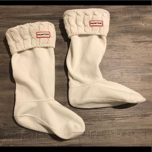 Hunter Fleece Sweater Boot Socks
